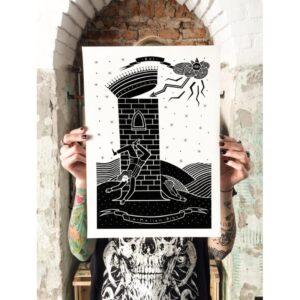 La Torre poster by Isoì