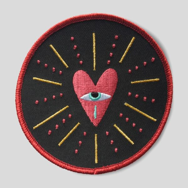 Patch Ricamata - Cuore Collection
