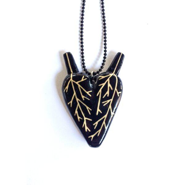 Pendente - L'oro nel cuore