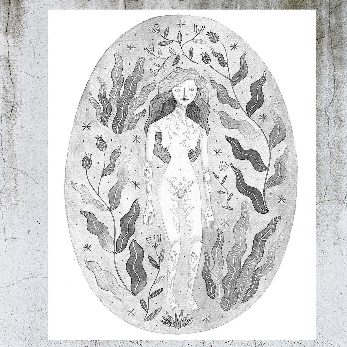 Fiorirai illustrazione by Isoì