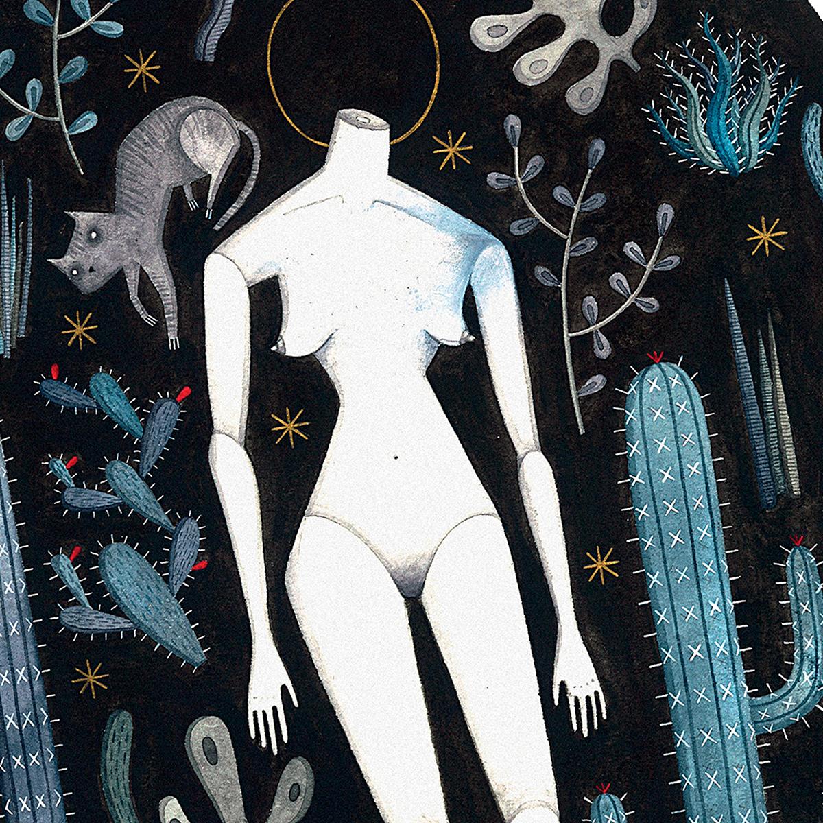 La Notte illustrazione by Isoì