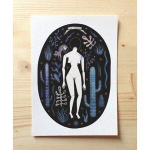 La Notte nella propria foresta, cartolina by Isoì